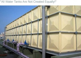 Sekisui Sectional GRP Water Tanks